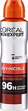 Parfums et Produits cosmétiques Déodorant spray sans alcool - L'Oreal Paris Men Expert Invincible 96 Hours Deodorant Spray