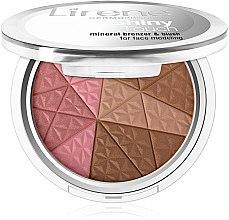 Parfums et Produits cosmétiques Poudre bronzante et blush - Lirene Shiny Touch Mineral Bronzer & Blush