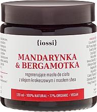 Parfums et Produits cosmétiques Beurre à l'extrait de karité, mandarine et bergamote pour corps - Iossi Regenerating Body Butter