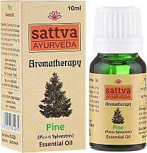 Parfums et Produits cosmétiques Huile essentielle de pin sylvestre 100% naturelle - Sattva Ayurveda Pine Essential Oil