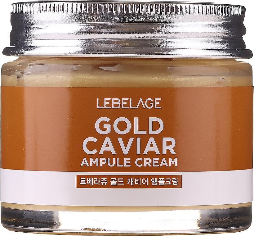 Crème rajeunissante à l'Or et extrait de caviar - Lebelage Ampoule Cream Gold Caviar — Photo N2