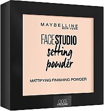 Parfums et Produits cosmétiques Poudre matifiante et fixante pour visage - Maybelline Facestudio Setting Powder
