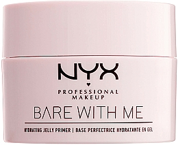 Parfums et Produits cosmétiques Base perfectrice hydratante en gel - NYX Professional Makeup Bare With Me Hydrating Jelly Primer