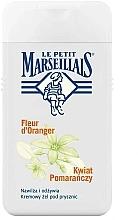 Parfums et Produits cosmétiques Gel douche crémeux à la fleur d'orange - Le Petit Marseillais