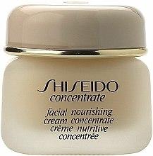 Parfums et Produits cosmétiques Crème concentrée à l'acide hyaluronique bio pour visage - Shiseido Concentrate Facial Nourishing Cream