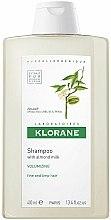 Parfums et Produits cosmétiques Shampooing hypoallergénique à l'huile d'amande - Klorane Volumising Shampoo with Almond Milk
