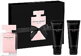 Parfums et Produits cosmétiques Narciso Rodriguez For Her - Coffret (eau de toilette/50ml + lotion corps/75ml + gel douche/75ml)