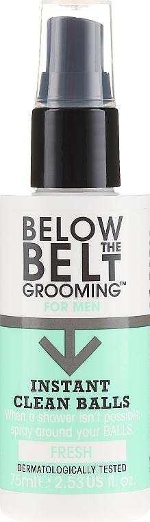Spray d'hygiène intime rafraîchissant - Below The Belt Grooming Instant Clean Balls Fresh
