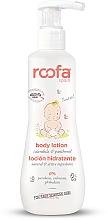 Parfums et Produits cosmétiques Lotion à l'extrait de calendula et panthénol pour corps - Roofa Calendula & Panthenol Body Lotion