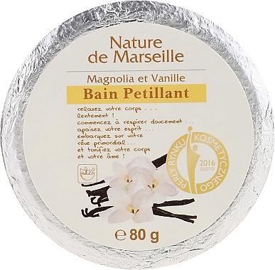 Bain pétillant Magnolia et vanille - Nature de Marseille Magnolias&Vanilla