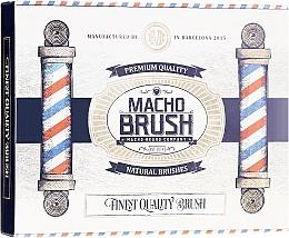 Parfums et Produits cosmétiques Brosse à barbe, ovale - Macho Beard Company Macho Brush