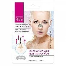 Parfums et Produits cosmétiques Patchs anti-points noirs au charbon actif pour nez - Czyste Piekno Nose Pack