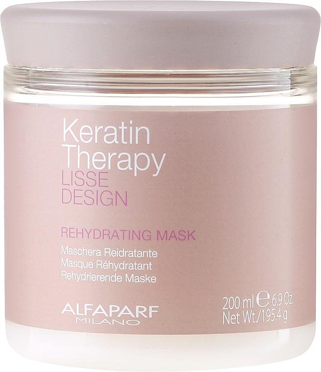 Masque à la kératine pour cheveux - Alfaparf Lisse Design Keratin Therapy Rehydrating Mask