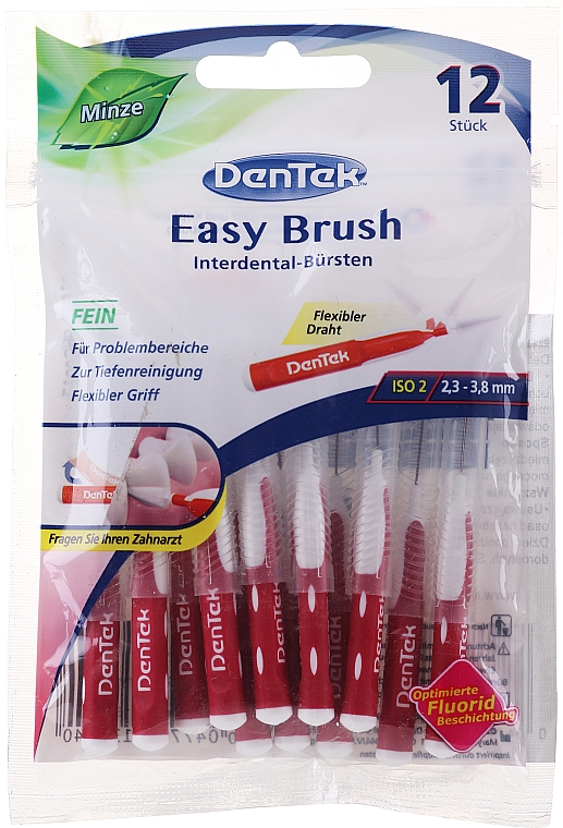 Brossettes interdentaires, taille 2 - DenTek Easy Brush