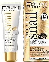 Parfums et Produits cosmétiques Masque revitalisant à la bave d'escargot pour le visage - Eveline Cosmetics Royal Snail