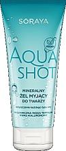 Parfums et Produits cosmétiques Gel nettoyant minéral à l'acide hyaluronique pour visage - Soraya Aquashot