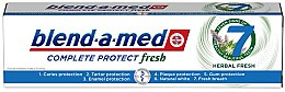 Parfums et Produits cosmétiques Dentifrice aux herbes - Blend-a-Med Complete Protect Fresh 7 Herbal Fresh Toothpaste
