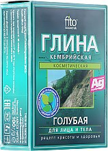 Parfums et Produits cosmétiques Argile bleue cambrienne pour visage et corps - FitoKosmetik