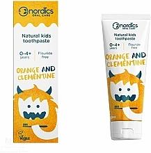 Parfums et Produits cosmétiques Dentifrice Orange et clémentine - Nordics Kids Orange Clementine Toothpaste