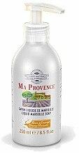 Parfums et Produits cosmétiques Savon liquide de Marseille à la fleur d'oranger - Ma Provence Liquid Marseille Soap Orange