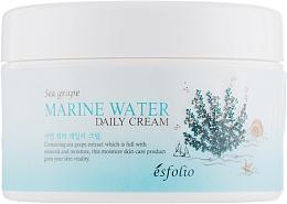 Parfums et Produits cosmétiques Crème à l'extrait de raisin bord de mer pour visage - Esfolio Marin Water Daily Cream