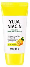 Parfums et Produits cosmétiques Crème éclaircissante pour visage, SPF50+ - Some By Mi Yuja Niacin Mineral 100 Brightening Suncream