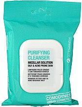 Parfums et Produits cosmétiques Lingettes micellaires à l'acide salicylique pour visage - Comodynes Purifying Cleanser Oily & Acne Prone Skin
