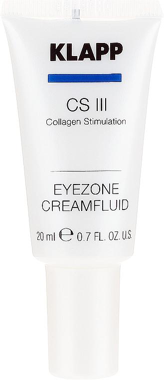 Crème-fluide à l'huile d'amande douce contour des yeux - Klapp Collagen CSIII Eye Zone Cream Fluid — Photo N2