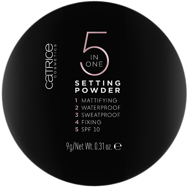 Poudre pour visage - Catrice 5 in 1 Setting Powder