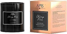 Parfums et Produits cosmétiques Bougie parfumée à la cire de soja - APIS Professional Olimp Fire Soy Candle