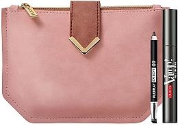 Parfums et Produits cosmétiques Coffret cadeau - Pupa Vamp All in One & Multiplay 2020 (mascara/9ml + pencil/0.8g + bag)