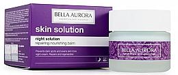 Parfums et Produits cosmétiques Crème de nuit au beurre de karité - Bella Aurora Night Solution Repairing Nourishing Balm