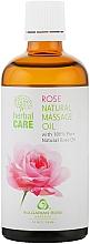 Parfums et Produits cosmétiques Huile de massage à l'huile de rose bulgare - Bulgarian Rose Herbal Care