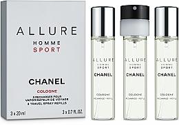 Parfums et Produits cosmétiques Chanel Allure Homme Sport Cologne - Eau de Cologne (+ 2 recharges)