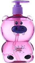 Parfums et Produits cosmétiques Gel douche pour enfants , arôme gelée de fraise , Hippo - Chlapu Chlap Bath & Shower Gel