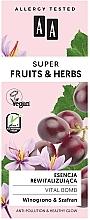 Essence au beurre de karité pour visage - AA Super Fruits & Herbs Vital Bomb — Photo N3