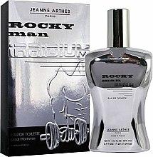 Parfums et Produits cosmétiques Jeanne Arthes Rocky Man Irridium - Eau de Toilette
