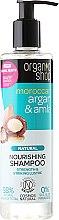 Parfums et Produits cosmétiques Shampooing nourrissant à l'huile d'argan et amla - Organic Shop Argan & Amla Nourishing Shampoo