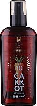 Parfums et Produits cosmétiques Huile de bronzage, Carotte SPF 10 - Mediterraneo Sun Carrot Suntan Oil Dark Tanning SPF 10