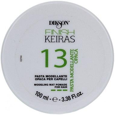 Pâte coiffante matifiante - Dikson Finish Keiras Pasta Modellante Opaca 13