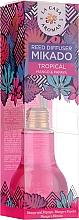 Parfums et Produits cosmétiques Bâtonnets parfumés, Mangue et Papaye - La Casa de Los Aromas Mikado Reed Diffuser
