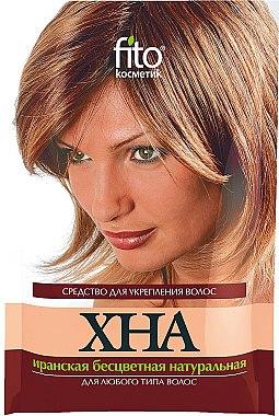 Henné iranien naturel pour cheveux, sans couleur - Fito Kosmetik Henna