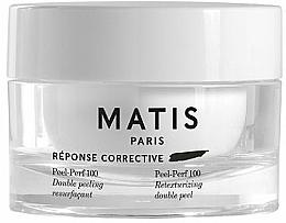 Parfums et Produits cosmétiques Peeling aux acides AHA et aloe vera pour visage - Matis Reponse Corrective Peel-Perf 100 Double Peel