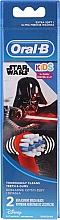 Parfums et Produits cosmétiques Têtes de remplacement pour brosse à dents électrique, Darth Vader - Oral-B Star Wars