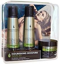 Parfums et Produits cosmétiques Coffret cadeau - Macadamia Professional Nourishing Moisture Travel Kit (shm/100ml + cond/100ml + mask/60ml)