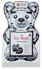 Parfums et Produits cosmétiques Masque tissu au charbon pour visage - SNP Ice Bear Charcoal Mask