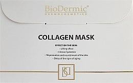 Parfums et Produits cosmétiques Masque tissu au collagène pour visage - BioDermic Collagen Mask