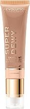 Parfums et Produits cosmétiques Crème hydratante teintée pour visage - Makeup Revolution Superdewy Skin Tint