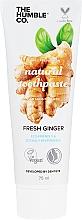 Parfums et Produits cosmétiques Dentifrice à l'extrait de gingembre - The Humble Co. Natural Toothpaste Fresh Ginger