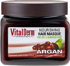 Parfums et Produits cosmétiques Masque à l'huile d'argan pour cheveux - VitalDerm Argana